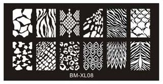 Stamping Plate BM XL08