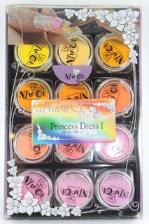 Nfu.Oh Acrylic Powder Princess Dress 01