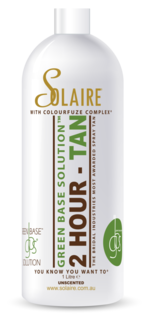 Solaire 2 Hour Green Base 14% Premium Black