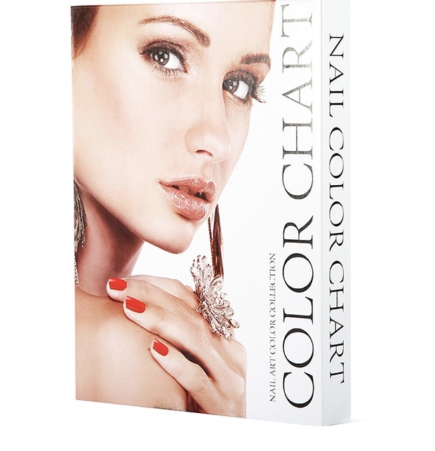 Polish Colour Display Book - White