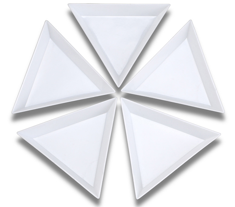 Plastic Triangle Tray pack