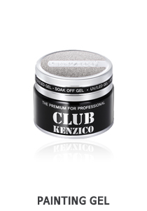 Kenzico Gel Paint White