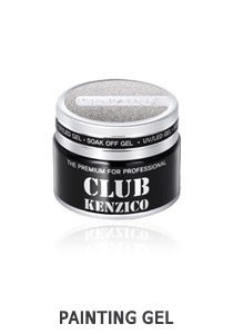 Kenzico Gel Paint Silver