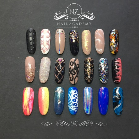 Gel Polish Nail Art Level 1